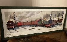 More details for framed railway print north london railway richmond c hamilton ellis