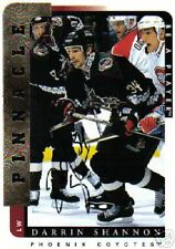 96/97  BE A PLAYER AUTOGRAPHS DARRIN SHANNON - COYOTES
