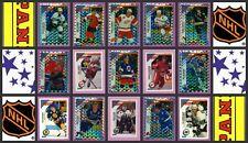 1993 Panini NHL Hockey Stickers Complete Set of 300 Selanne Tkachuk Rookie