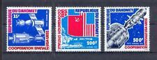 Raumfahrt - Space  Dahomey  617 - 619   Apollo - Sojus   **  (mnh)
