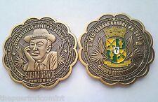 Medalla 200Años SABANA GRANDE MACHUCHAL Festival Petate PUERTO RICO Gigante 50mm