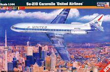 SE-210 CARAVELLE (SCANDINAVIAN SAS & UNITED AIRLINES MKGS)#D27 1/144 MISTERCRAFT