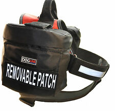 Dogline Unimax Service Dog Vest Harness Chest Plate Patches & Side Bags