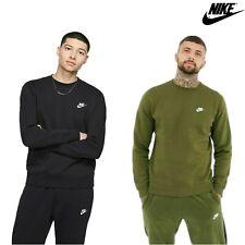 Nike Mens Tracksuit Pants Crew Sweat shirt Top Fleece Joggers Training  Club
