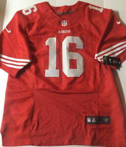 NIKE JOE MONTANA SAN FRANCISCO 49ers RED ON-FIELD #16 SEWN SIZE 52 NWT