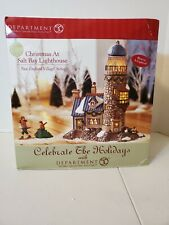Dept 56 Department Christmas at Salt Bay Lighthouse New England Village #5657007