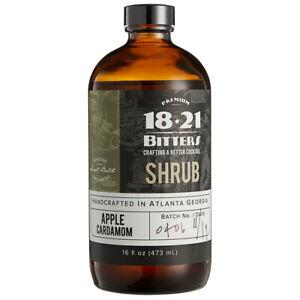 18.21 Bitters 16 oz. Cocktail Shrub (choose flavor below)