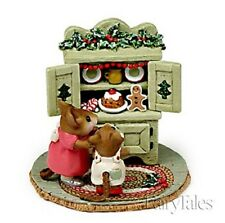 Wee Forest Folk M-241 Christmas Cupboard Green
