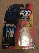 Star Wars Princess Leia 3 band belt Tri-logo Red Card 1997 Kenner