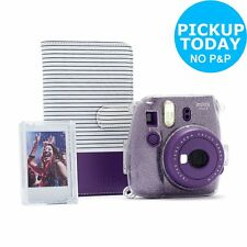 Instax Mini 9 Purple Camera Bundle