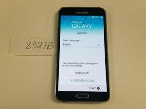 Samsung Galaxy S5 SM-S903VL - 16GB - Black/Electric Blue (TracFone) (8327B)