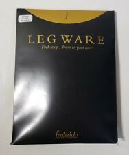 Frederick's of Hollywood Leg Ware White Thigh Highs Collection Candy Cane