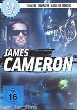 TERMINATOR + ALIENS, Die Rückkehr + THE ABYSS (3 DVDs) Regie: James Cameron OVP
