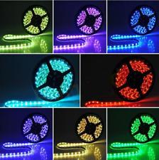 12 V 5 M 5050LED Rgb Auto Adhesivo luz de tira de cinta de cambio de color Luz Kit Completo