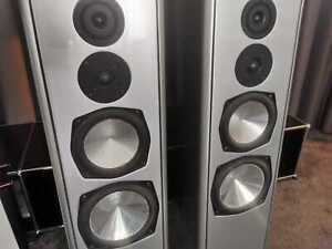 Symphonic Line Belcanto High End Standlautsprecher mit externer Frequenzweiche