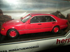 1:43 Herpa Mercedes-Benz 600 SEL W140 SONDERLACK rot/red in OVP