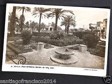 1473.-SEVILLA -12 Plaza de América. Glorieta del reloj Solar