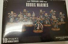 Warhammer 40K Horus Heresy Thousand Sons RUBRIC MARINES