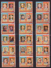 U.S. Presidents = Washington - Nixon = 18 Stamp Set =Complete As Issued In 1971