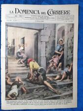 La Domenica del Corriere 13 ottobre 1946 Turi,Puglia - Boxe,Boston- Ku-Klux-Klan
