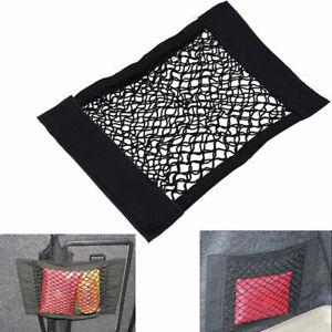 """Car Seat Side Back Mesh Interior Storage Net Bag Pocket Phone Holder 14.29"""" New"""