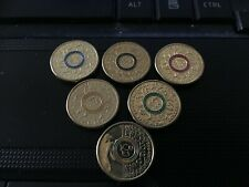 6 x 2016 $2 Olympic Coins
