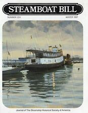 #224 Steamboat Bill- Great Lakes Ferry BADGER, Ice Jam! - SSHSA sHiPs WORLDWIDE