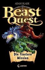 Beast Quest – Die finstere Mission von Adam Blade (2012, Gebundene Ausgabe)