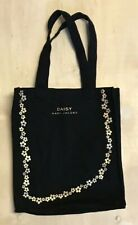 tote bag MARC JACOBS bag DAISY gold screen print day bag travel reuseable