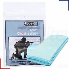 Abbey Airsoft Air Rifle Gun Pistol Cleaning Wipes - 10 Pack