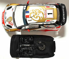 Lexan rally DS3 compatible SCX Scalextric ES Mustang no incluye carroceria