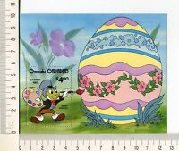 36718) Grenada Grenadines 1981 MNH Easter, Disney S/S