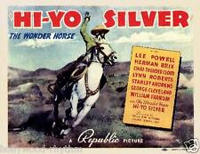 THE LONE RANGER In HI-HO SILVER!  Starring LEE POWELL 11x14 TC print 1938