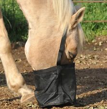CASHEL Feed Rite Horse Feed Bag - stop waste & stealing of grain