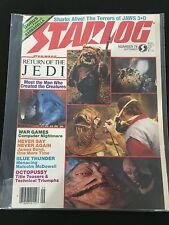 STAR WARS 1983 RETURN OF THE JEDI STARLOG MAGAZINE NICE !!ATARI ADS...