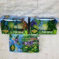 *NEW IN BOX* Vintage A Bug's Life LOT. Action Figure Ants, SEALED Disney Pixar