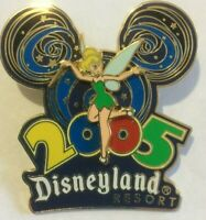 Tinker bell 2005 dlr Disneyland 3d dated  disney  pin  T
