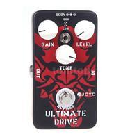 JOYO Ultimate Drive Overdrive Guitar Effect Pedal Black red Aluminum alloy R1N2