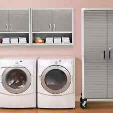 Laundry Room Cabinets Modern Kitchen Garage Bathroom Wall Mount With Doors Shelf