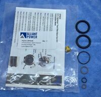 AP0029, Duramax Fuel Filter Housing Seal Kit & Bleeder Screw, 01-10 GM 6.6L