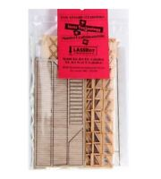 AMERICAN MODEL BUILDERS 327 HO Freight Dock w/Stairs Railroad Wood Kit FREE SHIP