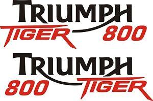 Triumph tiger 800 vinyl stickers