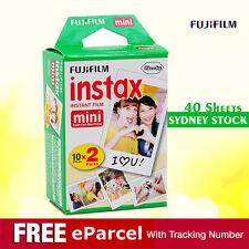 40 Sheets Fujifilm Instax Mini Film Fuji instant photos 7s 8 90 25 Polaroid 300