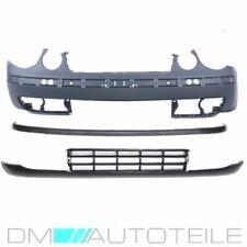 VW Polo MK3 9N1 Front Bumper COMPLETE+ Spoiler Lower + Grille 01-05 Set PREMIUM