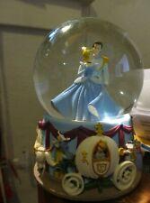 "DISNEY Musical Snowglobe by Enesco ""Cinderella""  Plays ""I Love You Truly"" 6"" T"