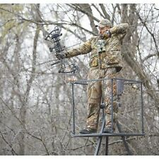 Tripod Deer Stands 13 Foot Hunting Big Game Hunter Ladder Shooting Tree Blind