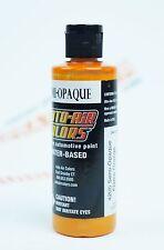 Createx Auto-Air Colors 4oz Semi-Opaque Flame Orange 4205 Custom Airbrush Paint