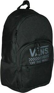 Vans Motivee 3-B Black/Grey Laptop Unisex Backpack (VN0A4B8BBLK)  - NWT