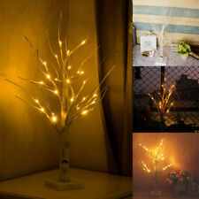 60cm Christmas Birch Tree LED Light Up Branches Twig Xmas Lights Indoor Decor UK
