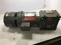 US ELECTRIC 1/4 HP GEAR MOTOR 208-230/460 V, 1750 RPM, 4P 60:1 RATIO